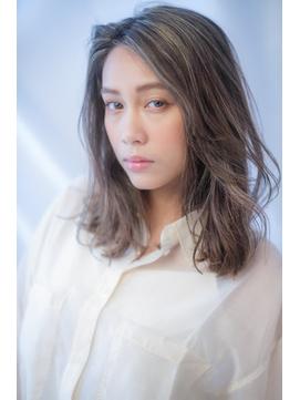 【katachi byAnge】 ハイライト/白髪ぼかし/アッシュグレージュ