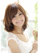 【K-two】小顔で大人かわいいふんわりミディアム 女子力.19