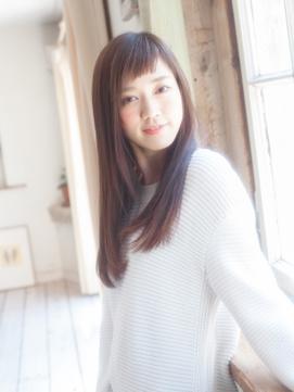 ♪愛され眉上バング♪【平塚】