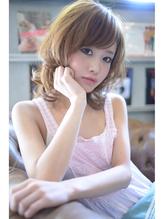 mighty☆モテ、フェミニン☆ミディアムレイヤー☆[052-262-4162] リラックスボブ.32