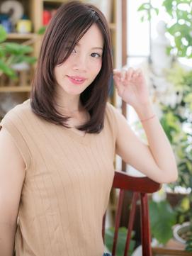 *bliss戸田公園*センターパート…小顔ハンサムセミディa