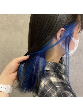 【funnufunnu】 インナーブルー!#のじカラー