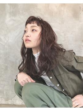 [helvetica hair]ソバージュ×ニュアンスパーマ*島村知世