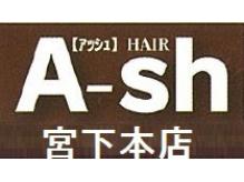 アッシュヘアー 宮下本店(A-sh HAIR)