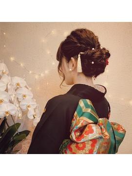 和装着物へアセット★振袖・袴・訪問着に(成人式・卒業・入学)