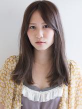 栗色アッシュベージュ大人カジュアルラフニュアンスツヤ感ロング 秋色.11