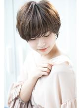 30代40代にオススメ☆大人可愛いマッシュショート.54