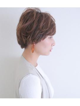 【神戸三宮】大人かっこいいハンサムショート