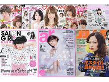 全国誌やヘアカタログの掲載数はエリアNo.1の圧倒的な技術力