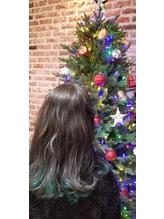 インナーカラーでクリスマスヘア.2