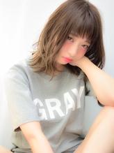 【Ripple】 アッシュグレー☆愛されミディアム  プリンセス.29