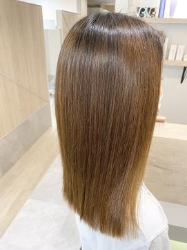 髪質改善縮毛矯正×エステカット