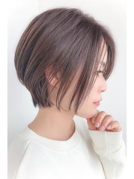 【髪質改善テクライズ名駅】長めバングのクールボブ