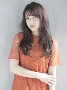 [K-two銀座]田中みな実風ナチュラルロング/美髪/前髪カット