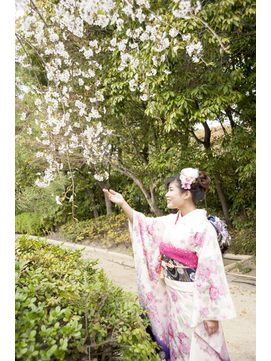 spring☆taking pictures