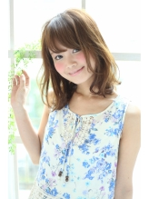 【K-two】目元ギリギリバングで小顔!大人かわいい透け感ミディ ヘアアイロン.59