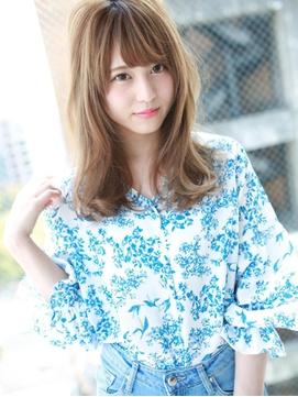 人気No.1☆小顔フェミニンカール☆