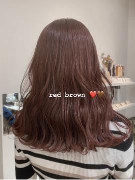 「レッドブラウン」