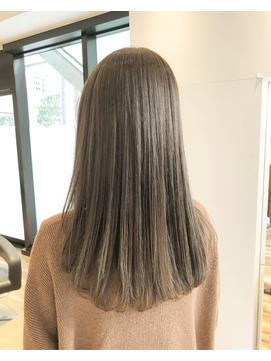 【Lotus hair design】♪ナチュラルフェミニンストレート♪