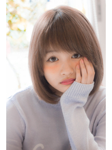 【HONEY表参道】前髪長めの大人可愛いボブ(小田 泰之) マニッシュ.35
