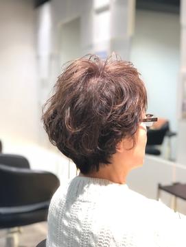 2020年春 5歳 60代 エレガントパーマ 御所南のヘアスタイル