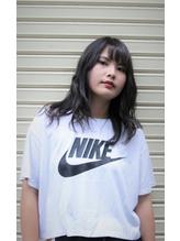 【coma中野】外国人風ハイライトグレージュセミロング.19
