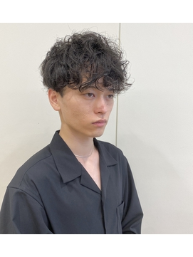 《morio 寺本》坂口健太郎風【無造作パーマ】