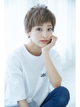 ベリーショート/ダブルカラー【髪質改善/モテ髪カタログ】