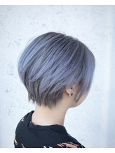 bleach color/white lavender.19
