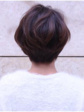 大人の最旬ボブ/ひし形シルエット 毛先パーマ