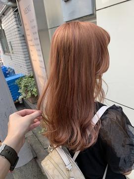 【大阪 天王寺】ダブルカラー*ピンクベージュ