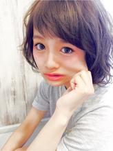アンフィフォープルコ☆エッジウェーブ × ショートバング キュート.22