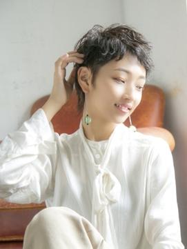 【Lond  charme 濱田麻佑】スタイリッシュショート