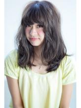 #hairsalon de Forever#暗髪ゆるふわアッシュグレー .32