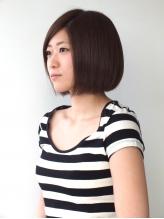 土浦Lumiere美容室☆清潔感溢れるワンレングスボブ☆ 清純.18