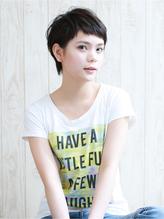 【LUXY】 fantine//short  黒髪大人可愛いベリーショート .43