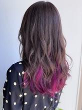 インナーカラー+ピンク.6