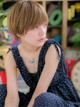 *+COVER HAIR+*…ハイトーンの★目力UP!ショートb 小頭.50