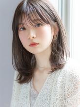 【GARDEN 佐藤真希】小顔前髪×透明感カラー×ミディアムヘア.15