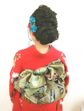 【sopo横浜 元町】振袖着付/成人式/結婚式結納前撮りに