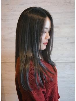 憧れのトレンドカラーやスタイルをより魅力的に★髪の内側から健康的な状態へと導くケアで指通りなめらか◎