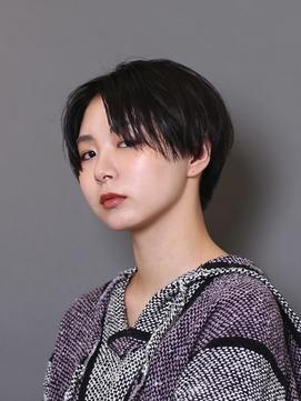 【吉祥寺駅】ショート 濡れ髪 ハンサムショート センターパート