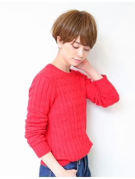 小顔大人ショートボブ【20代30代40】ショートマッシュ