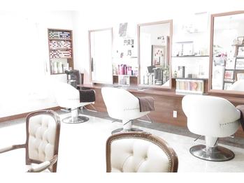 ヘア デザイン ロノアンジュ(Hair Design LONOANJE)(栃木県宇都宮市/美容室)