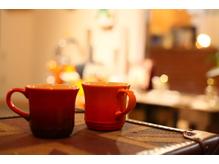 季節で変わる紅茶やお茶でほっこりしてください♪