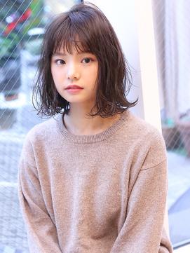 Ruiあご下ウェットボブ×暗髪グレー【Violet横浜】