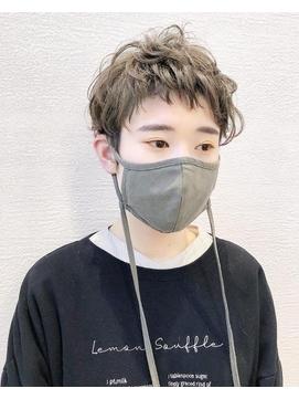 【淡路chlori】イメチェン前髪ベリーショート×カール