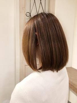 ドライカット ナチュラルボブ 髪質改善 お客様snap