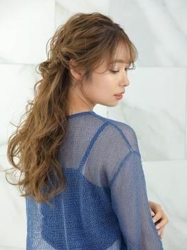 【AUBE HAIR】お呼ばれヘア_ハーフアップ