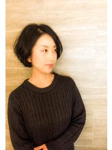 【京橋ステラ】 40代~からのショートボブ.24